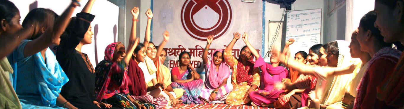 Self Employed Women's Association banner