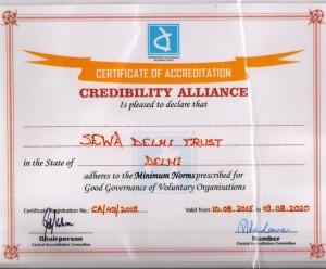 credibility alliance certificate